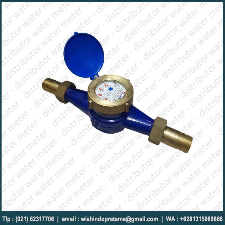 Water Meter Amico (25mm) Type LXSG-25E - Size 1 Inch Merupakan meteran air bersih yang telah digunakan oleh PDAM dan Perusahaan air minum lainnya.