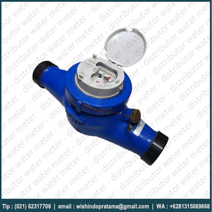 WATER METER ITRON 1,5 INCH MULTIMAG – METERAN AIR ITRON DN 40MM Merupakan water meteran air bersih yang banyak digunakan di PDAM atau seluruh indonesia