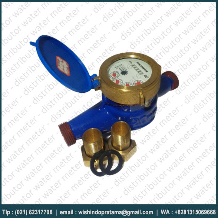 WATER METER CALIBRATE DN20 TYPE LXSG-20 . Water meter Calibrate DN20 merupakan meteran air yang sudah banyak digunakan oleh masyarakat Indonesia.